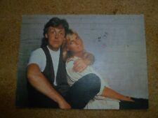 Paul McCartney Wings Fun Club Sandwich Postcard 1990 Beatles