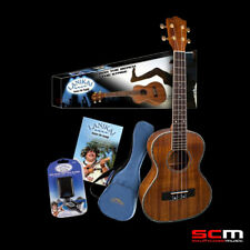 Koa Tenor Ukulele Lanikai Exotic Series with Gig Bag, Tuner, Booklet Free P+H