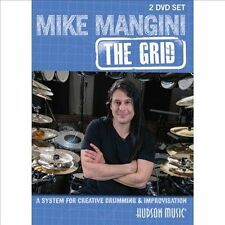 NEW Mike Mangini :The Grid for Creative Drumming DVD