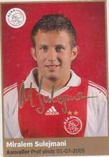 AH 2009/2010 Panini Like sticker 028 Miralem Sulejmani Ajax Amsterdam