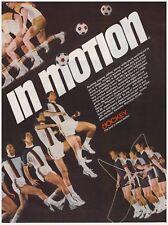 Original 1978 Jockey In Motion Vintage Print Ad Soccer Theme