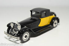 RIO BUGATTI ROYALE 41 1928 YELLOW BLACK NEAR MINT CONDITION