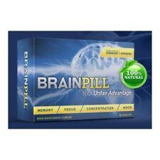 BRAIN PILL Focus Supplement BOOST Memory Cognizin Synapse factor BrainPill 60ct