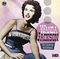 WANDA JACKSON - ESSENTIAL RECORDINGS 2 CD NEW!