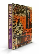 Faile Works on Wood New York Hand-Painted Wood Sleeve Limited xx/100 Signed