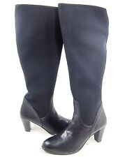 AMALFI BY RANGONI WOMEN'S AURA TALL FASHION BOOTS,BLACK,US SIZE 11 WIDE