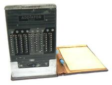 Antigua calculadora manual ADDIATOR Rapid  Berlin