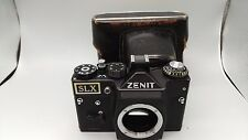 RARE USSR Zenit SLX  Rangefinder Film Camera Screw Body Leather Case NICE/CLEAN