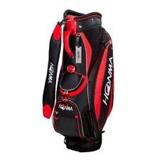 Honma Golf Caddy Bag HONMA CB-1732 Men's Black / Red New  from japan EMS