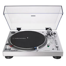 Audio-Technica AT-LP120XUSB-SV Direct-Drive Turntable Analog & USB (Silver)