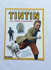 BD - Les aventures Tintin autocollants jeux énigmes / 2011 / HERGE / CASTERMAN
