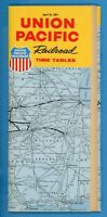 UNION PACIFIC PUBLIC TIMETABLE APRIL 30, 1967  (MINT CONDITION) FREE SHIPPING