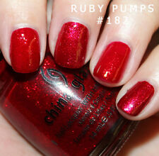 China Glaze Nail Polish - Ruby Pumps - 14ml - Wizard of Ooh Ahz Collection