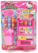 hc09 Hello Kitty Toy Vending Machine with Coins Juice and Other Accessories