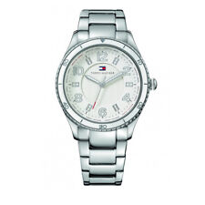 TOMMY HILFIGER WOMEN'S WATCH 1781056 SILVER BRACELET