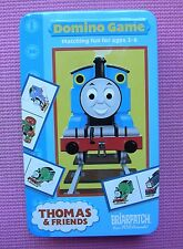 Thomas the Tank Engine & Friends Domino Game w/ Tin Briarpatch COMPLETE