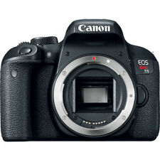 Canon EOS Rebel T7i Digital SLR Camera - Black (Body Only) - NEW!