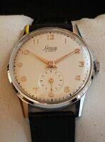 Vintage Armbanduhr Lanco – Handaufzug - Cal. Langendorf 924 – NOS
