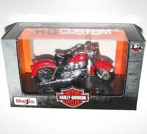 Maisto - Harley Davidson 1958 FLH DUO GLIDE (Red) - Model Scale 1:18