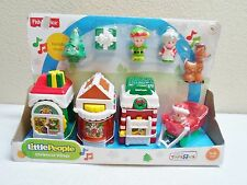 Fisher Price Little People Christmas Village NIB exclusive TOYS R US