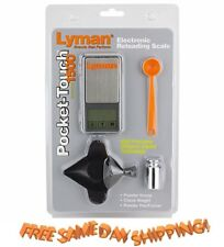 7750725 Lyman * NEW Pocket Touch Digital Scale Set # 7750725 *  New!