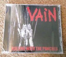 Vain - Rolling With The Punches Cd Record New *Official* Rock Metal No Respect