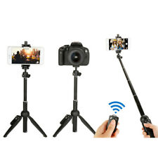 Extendable Selfie Stick Tripod Remote Shutter Desktop Holder Stand Cell Phone