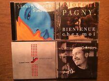 Florent Pagny  [4 CD Alben] Savoir Aimer + Chatelet les Halles + Bienvenue + Rec