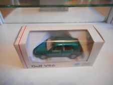 Schabak VW Volkswagen Golf VR6 in Green on 1:43 in Box
