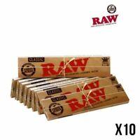 RAW Slim Lot De 10 Carnets de Feuilles Non Blanchies NEUF/FR