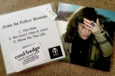 Joan As Police Woman 2xCD Bundle Real Life '06/Promo CD The Ride '07/Joan Wasser