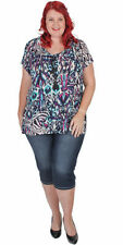Classic Neckline Casual Solid Tops & Blouses for Women