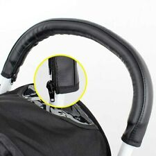 Black Faux Leather Handlebar Cover to fit Bugaboo Cameleon 1 2 3 Baby Strollers