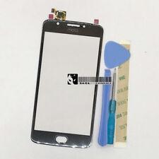 For Motorola Moto E4 XT1762 XT1772 Black Touch Screen Digitizer Glass Lens&Tools