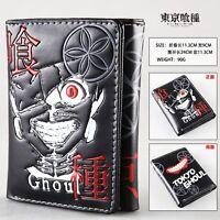 tokyo ghoul Ken Kaneki Anime Manga Geldbörse Geldbeutel 11.3x9cm Neu