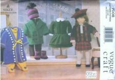 """Vogue Sewing Pattern 7008 - 18"""" Doll Clothes (Vogue Doll Collection) Linda Carr"""