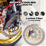100mm Carbon Fiber Air Duct Brake Cooling for Aprilia TUONO V4 1100 FACTORY