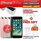 New&Sealed Factory Unlocked APPLE iPhone 7 + Plus 32 128 256GB Jet Black Gold