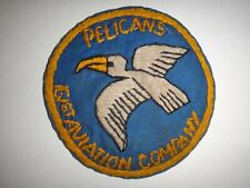Vietnam War US 161st Aviation Company PELICANS Hand Sewn Patch