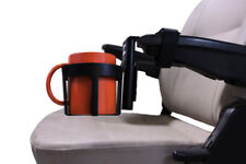 44 oz. Cup Holder for Power Chair & Mobility Scooter Armrests - No tools needed
