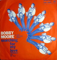 """7"""" BOBBY MOORE  & THE RHYTHM ACES SEARCHING FOR MY LOVE - 1967 SOUL FUNKY CADET"""