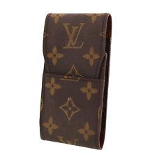 LOUIS VUITTON Etui Cigarette Case Monogram Leather M63024 France Authentic #U905