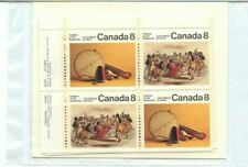 Canada matched set 8c x 4 x 4 $1.28 MINT