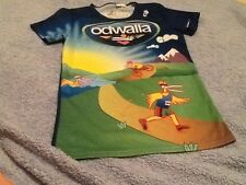 Odwalla Champ-Sys Running Biking Cycling Women's Size M Shirt Bright Colors