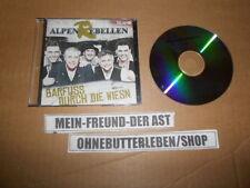 CD Schlager Alpenrebellen - Barfuss durch die Wiesn (1 Song) Promo MCD TELAMO