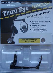 Fahrrad-Rückspiegel / Helm-Spiegel Klettverschluss, Third Eye Mirror No. 07