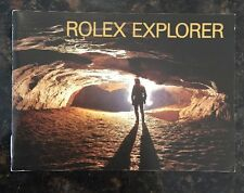 Vintage Rolex Instructions Manual EXPLORER Booklet in English from 2.1997