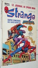 MARVEL LUG STRANGE EO N°189 1985 SUPER-HEROS DIV ALPHA DAREDEVIL SPIDERMAN