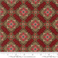 Moda Fabric ~ PUMPKIN PIE ~ Laundry Basket Quilts (42282 14) - by 1/2 yard