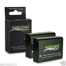 2x batterie lp-e5 patona premium 1020 mah compatibile canon rebel serie X